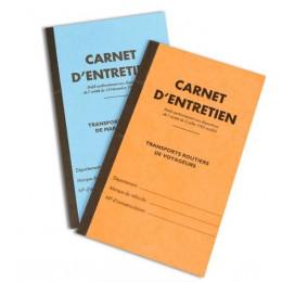 CARNET D'ENTRETIEN MARCHANDISES