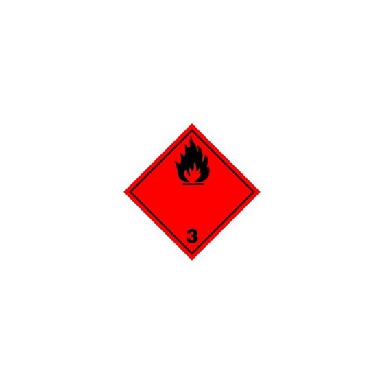 Symbole de danger 250x250 adhésif N°3/N
