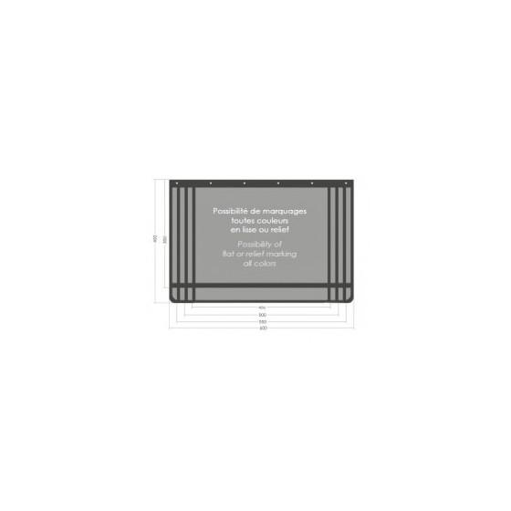 BAVETTE 400 X 600 RETAILLABLE 3MM