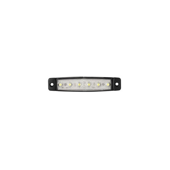 Feu de gabarit blanc à LED  ENTRAXE 86MM